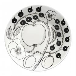 Black Paratiisi Plate Coffee Saucer 14 cm