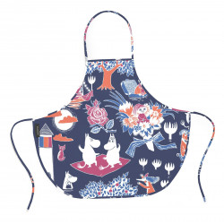 Moomin Magic Children Oil Cloth Apron 55 x 50 cm
