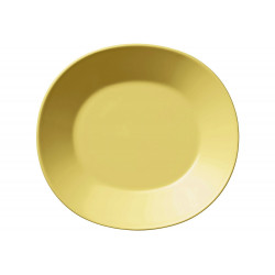 Arabia Colors Yellow Oval Plate 22 x 24 cm