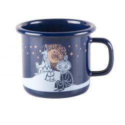 Moomin Enamel Mug Winter Romance 0.25 L