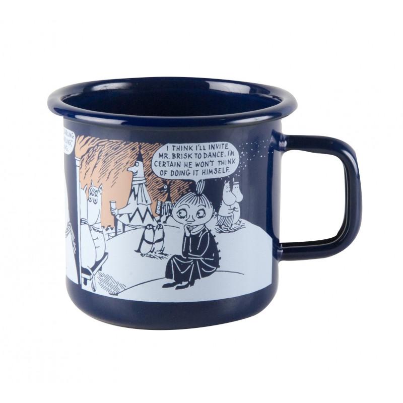 Moomin Enamel Mug Winter Romance 0.37 L