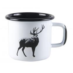 Muurla Nordic Enamel Mug Deer 0.37 L