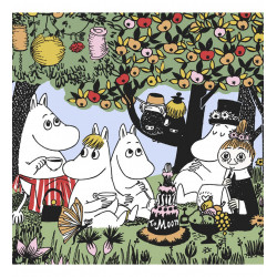 Moomin Paper Napkins Party 20 pcs 33 x 33 cm