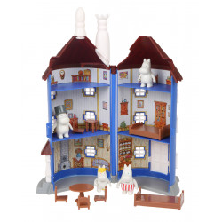 Moomim Small House with 4 Figures and Furniture