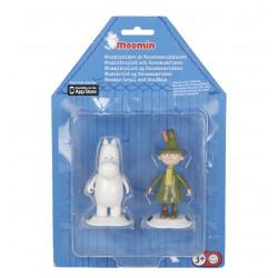 Moomin Game Room Figures Moomintroll Snufkin