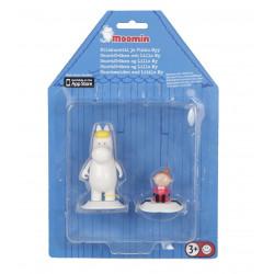 Moomin Game Room Figures Snorkmaiden Little My