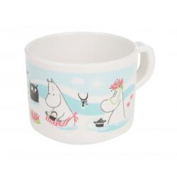 Moomin Plastic Mug Pond