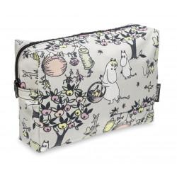 Moomin Large Cosmetics Bag Celebration Tove 100 28 x 20 cm