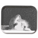 Moomin Birch Tray Groke 20 x 27 cm Optodesign