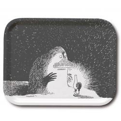 Moomin Birch Tray Groke 20 x 27 cm Optodesign