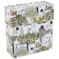 Moomin Garden Tin Box for Coffee Filters