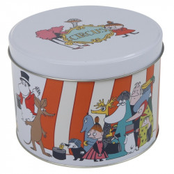 Moomin Circus Round Tin Box