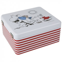 Moomin Trip Tin Box for Tea Bags