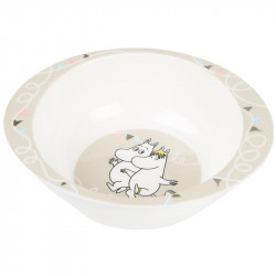 Moomin Happy Melamine Small Deep Plate