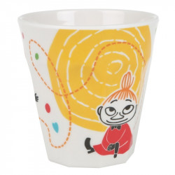 Moomin Children Melamine Party Mug 0.25 L Little My Circles Martinex