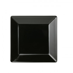 Arabia Nero Dish Black 20 x 20 cm