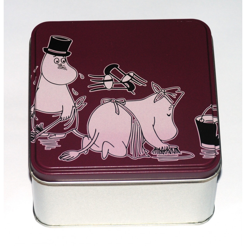 Moomin Tin Can Moominpappa Moominmamma Cleaning Martinex Finland
