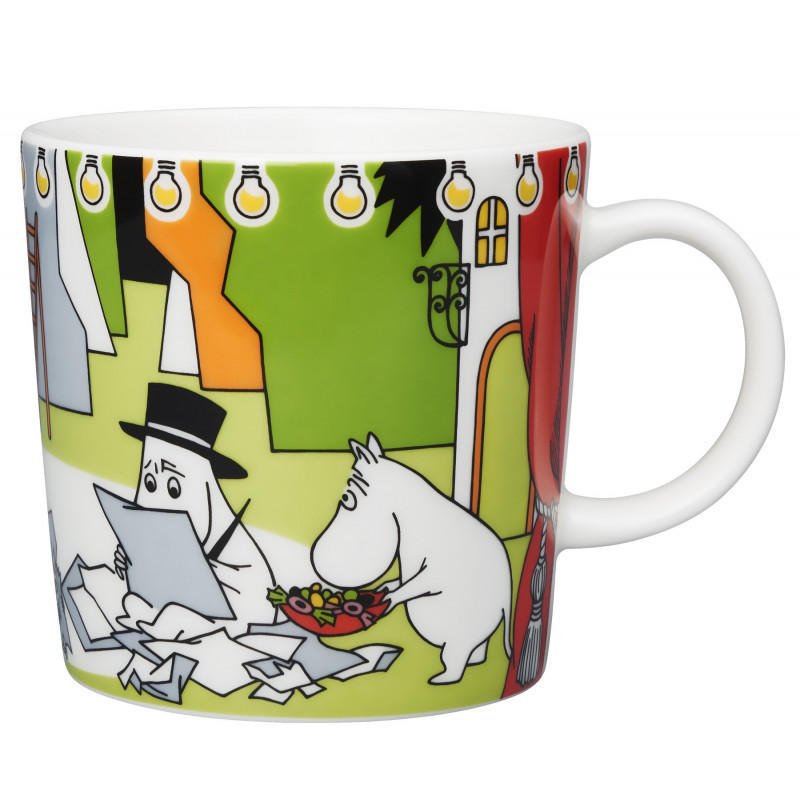 Moomin Seasonal Mug Summer Theater Summer 2017 Arabia