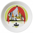 Moomin Seasonal Plate 19 cm Summer Theater Summer 2017 Arabia