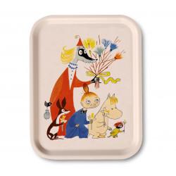 Moomin Birch Tray Easter White 27 x 20 cm Optodesign