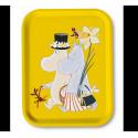 Moomin Birch Tray Easter Yellow 27 x 20 cm Optodesign