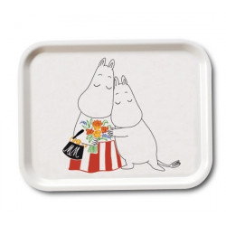 Moomin Birch Tray Mother's Day 27 x 20 cm Optodesign