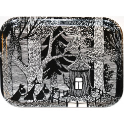 Moomin Birch Tray Cottage in the Woods 36 x 28 cm
