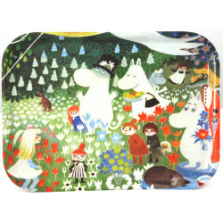 Moomin Birch Tray Dangerous Journey Optodesign 27 x 20 cm