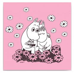 Moomin Paper Napkins Love 33 x 33 cm Optodesign