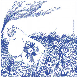 Moomin Napkins Snorkmaiden 33 x 33 cm Optodesign