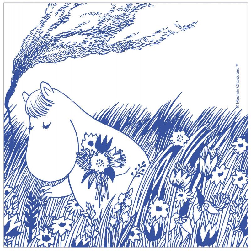 Moomin Paper Napkins Snorkmaiden 33 x 33 cm Optodesign