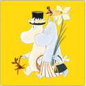 Moomin Napkins Easter Yellow 33 x 33 cm 20 pcs Optodesign
