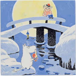 Moomin Paper Napkins Midwinter 33 x 33 cm, 20 pcs Optodesign