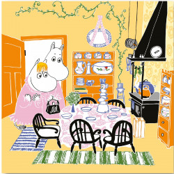 Moomin Napkins Kitchen 33 x 33 cm 20 pcs Optodesign