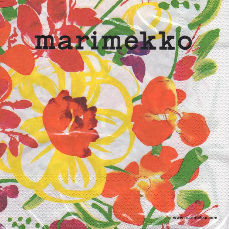 Marimekko Paper Napkins Ursula 33 x 33 cm, 20 pcs