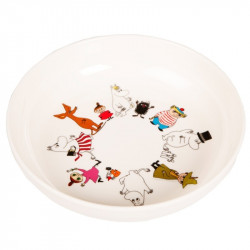 Moomin Friends Melamine Deep Plate Martinex