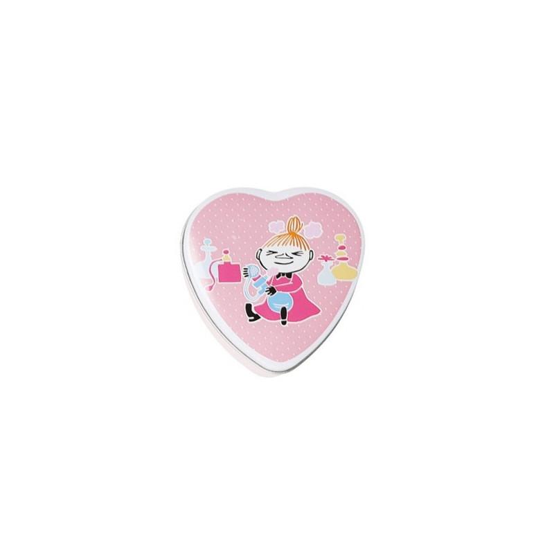 Moomin Heart Jar Little My Pink Martinex