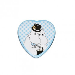 Moomin Heart Jar Moominpappa Moominmamma Blue Martinex
