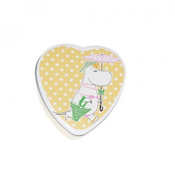 Moomin Heart Jar Snorkmaiden Yellow Martinex