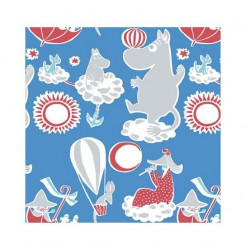 Moomin Paper Napkins Dream 20 pcs 24 x 24 cm