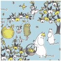 Moomin Paper Napkins Celebration Blue 20 pcs 33 x 33 cm
