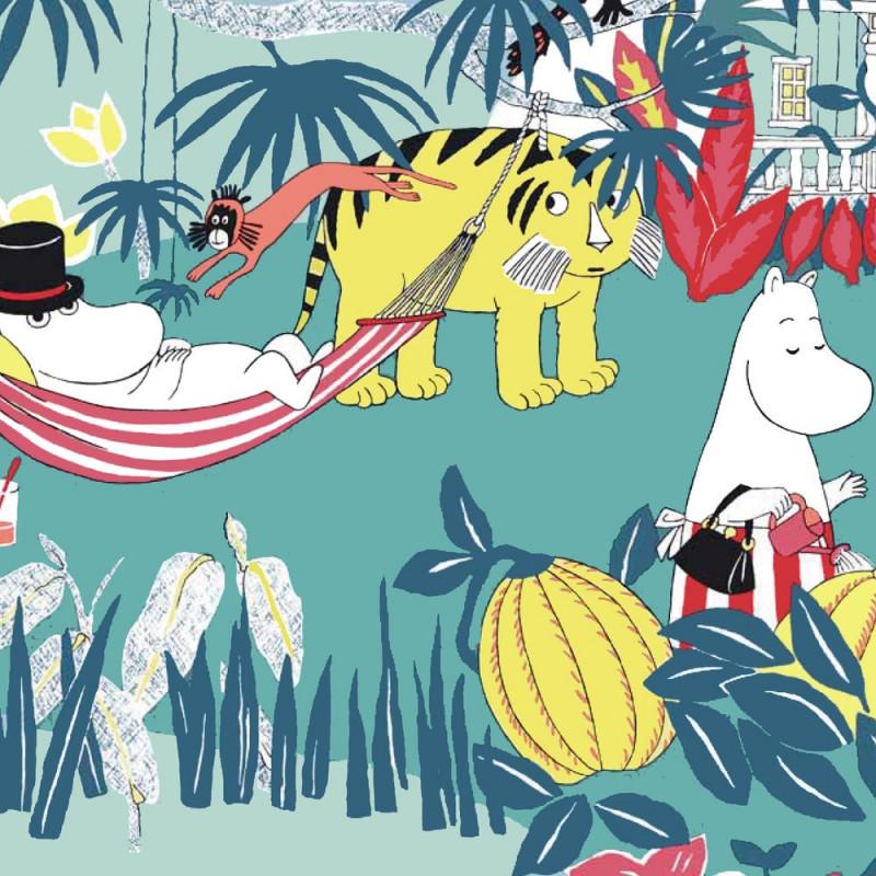 Moomin Paper Napkins Jungle 20 pcs 33 x 33 cm