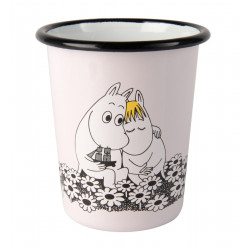 Moomin Enamel Cup Together Forever 0.4 L Muurla