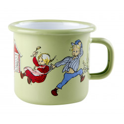 Enamel Mug Emil and Ida...