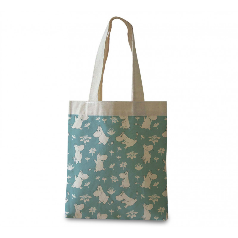 Moomin Shopping Bag Moomin Troll Blue Optodesign