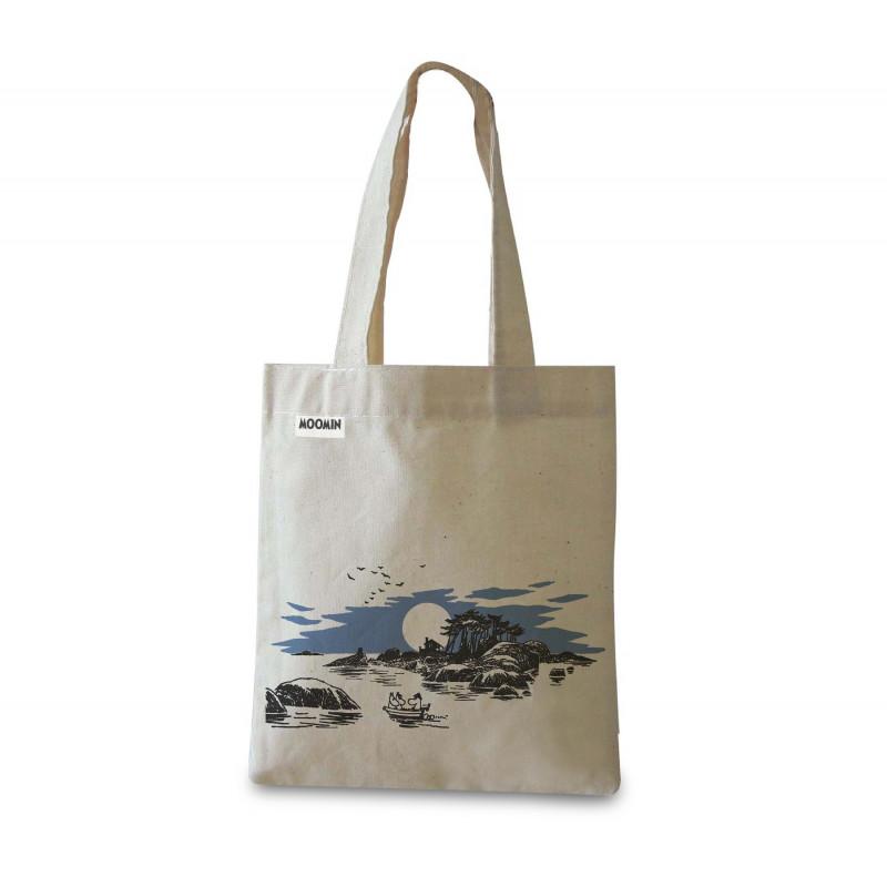 Moomin Tote Bag Island Optodesign
