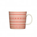 Kulku Mug Red Seasonal 2011 Arabia
