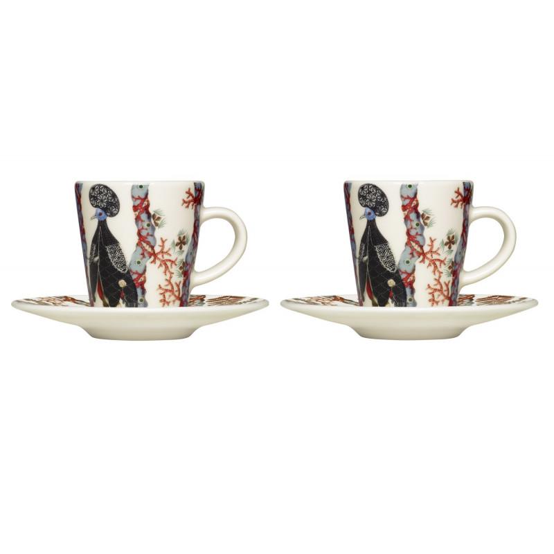 IIttala Tanssi Espresso Set 2 x 0.1 L Cup 2 x 11 cm Saucer