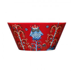 Taika Red Bowl 0.6 L Iittala