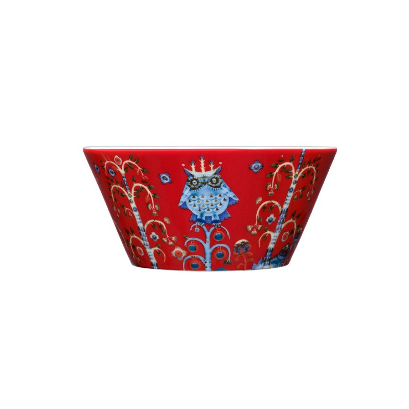 Taika Red Bowl 0.6 L Iittala